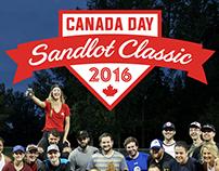 Canada Day Sandlot Classic Logo