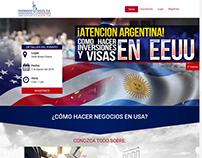 Landing Page - Evento Argentina Fernando Socol P.A.
