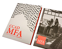 CCAD MFA New Project Collateral Material