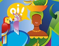 Rio Olympics 2016 Illustration