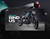 Bunker Custom Cycles Website