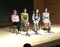 Group Q&A- Celine, Julie, Madison, Pamela- 2017