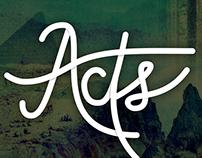 Acts | Series Branding