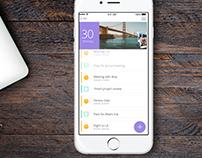 Calendar+To-Do+Diary App Concept