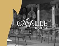 Cavalle Lounge Branding