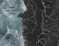 Hábitat de la costa pacífica Catografías Hídricas