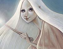 Fleur Delacour - HP Illustration