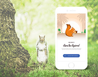 Sora the Squirrel App UI