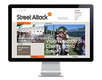 Street Attack Website & Blog Redesign