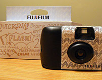 Fujifilm Disposable Camera Package Redesign