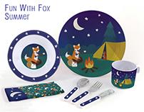 Fun with Fox : Seasonal Dish Set