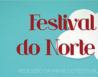 Rediseño de la imagen del Festival do Norte