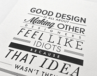 Type Posters ~ Inspirational Quotes