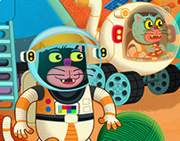 Cats Colonizing Mars! (Children's Publishing)
