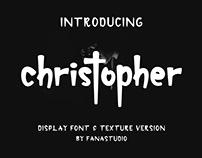 CHRISTOPHER DISPLAY FONT