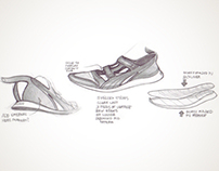 Sketches - Sport Fashion Footwear