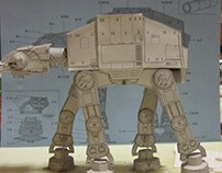 PAPER CRAFT: AT-AT Walker