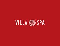 Identidade Visual Villa Spa