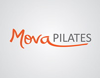 Identidade visual Mova Pilates
