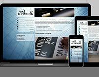 Strona internetowa / Website – WAYFINDING