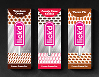 Lick'd: Holiday Packaging