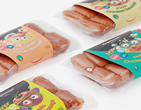 Singourmet Sausages Packaging Design