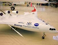 Boeing X-48 Front Landing Gear