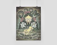 MF Doom Poster Design
