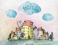 """""""Andżej"""" artbook - praca dyplomowa"""