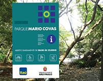 Sinalização Parque Mario Covas