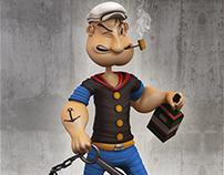 Popeye. 3d