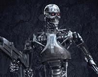 T-800 (Terminator) 3D Model