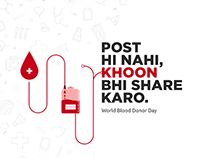 World Blood Donor Day creative