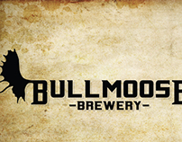 Bullmoose Brewery Label