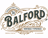Balford Font And Ornament