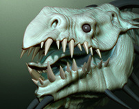 Zbrush Feel Beast by TITI