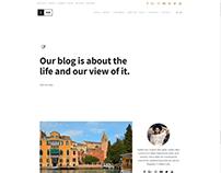 Home Grid Page - Ink Blog WordPress Theme