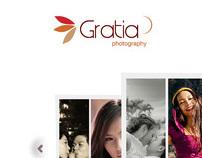 Gratia Photography - Web Concept