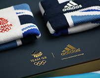 Adidas Team GB 'take the stage'