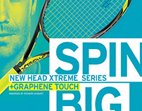 HEAD RACQUET SPORTS – EXTREME Product Campaign