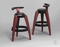 Solidworks: Bar Stool