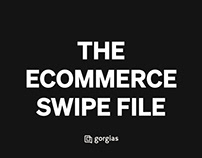 Gorgias - The E-commerce swipe file branding