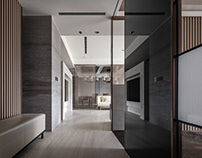 Private Residential Project/ by 輯門設計