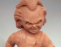 CHUCKY (Sculpture for 3d printing)