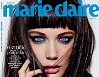 Marie Claire CZ cover October 2015