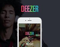 Deezer's Redesign Concept
