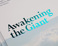 Awakening the Giant – Brochure Design