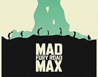 MAD MAX : FURY ROAD Poster - Inspired by Olly Moss