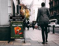 Street Sign Free PSD Mockup