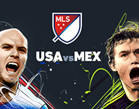 MLS Friendly match illustrations